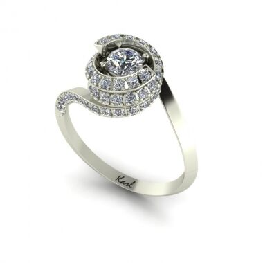 Bolero engagement ring