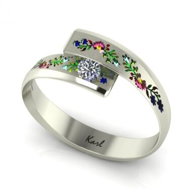 Sunlight engagement ring