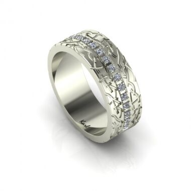 Eternale Flame wedding ring