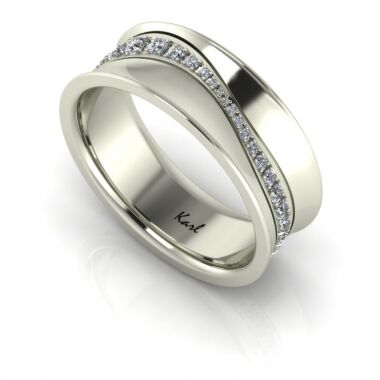 Harmony wedding ring
