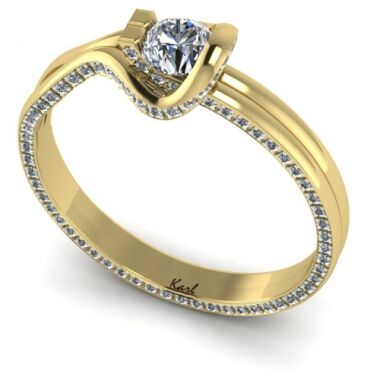Zaria engagement ring