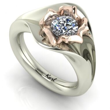 Solidor engagement ring
