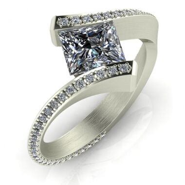 Fantasy engagement ring