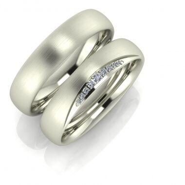 Comfortable wedding ring