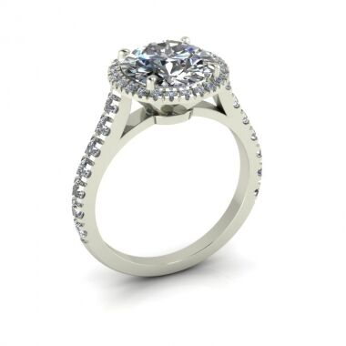 Fire King engagement ring