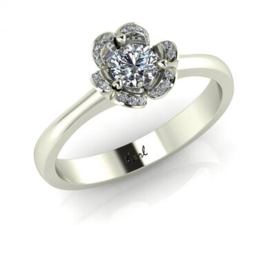Baby Romantica engagement ring
