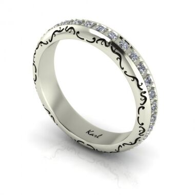 Eclectica wedding ring