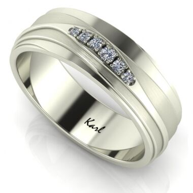 Roads wedding ring